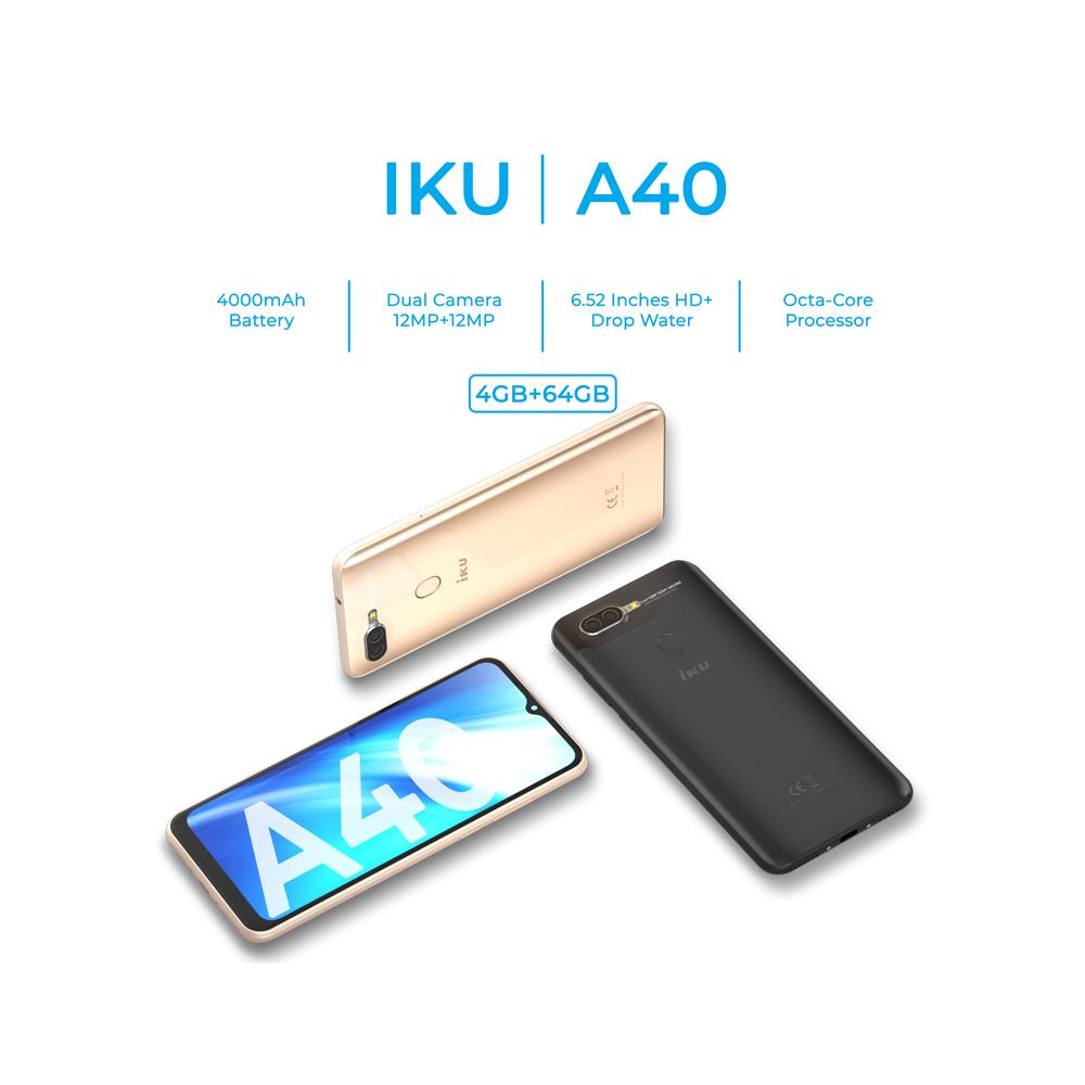 IKU|A40 4GB+64GB